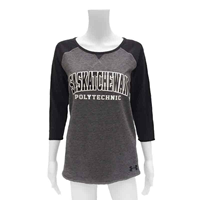 UNDER ARMOUR LADIES 3/4 SLEEVE T SHIRT