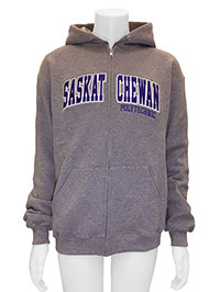 RUSSELL ADULT HOODED SWEATSHIRT WITH FULL ZIPPER